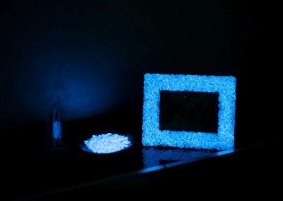 Portafoto che si illumina al buio